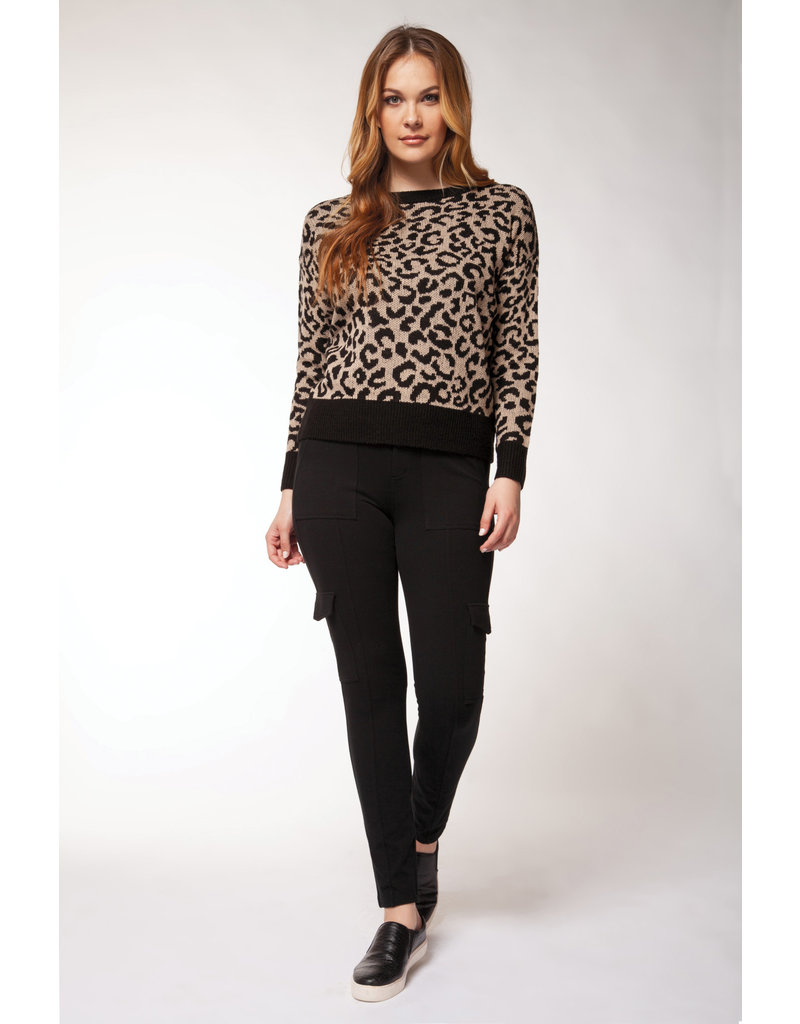 Dex Janelle Leopard Sweater