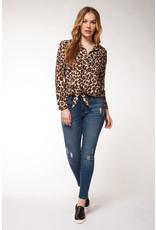 Dex Celina Cheetah Blouse