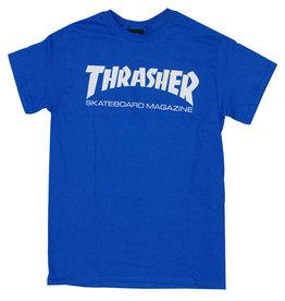 Thrasher Thrasher Tee Mens Sk8 Mag S/S (Royal)