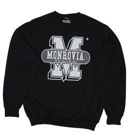 Stix Stix Monrovia Collegiate Sweater (Black/Light Grey)