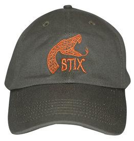 Stix Stix Hat Rattler Strapback (Olive/Orange)