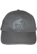 Stix Stix Hat Rattler Strapback (Charcoal/Light Grey)