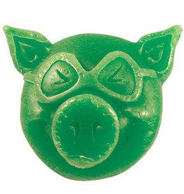 Pig Pig Wax Pig Head (Green)