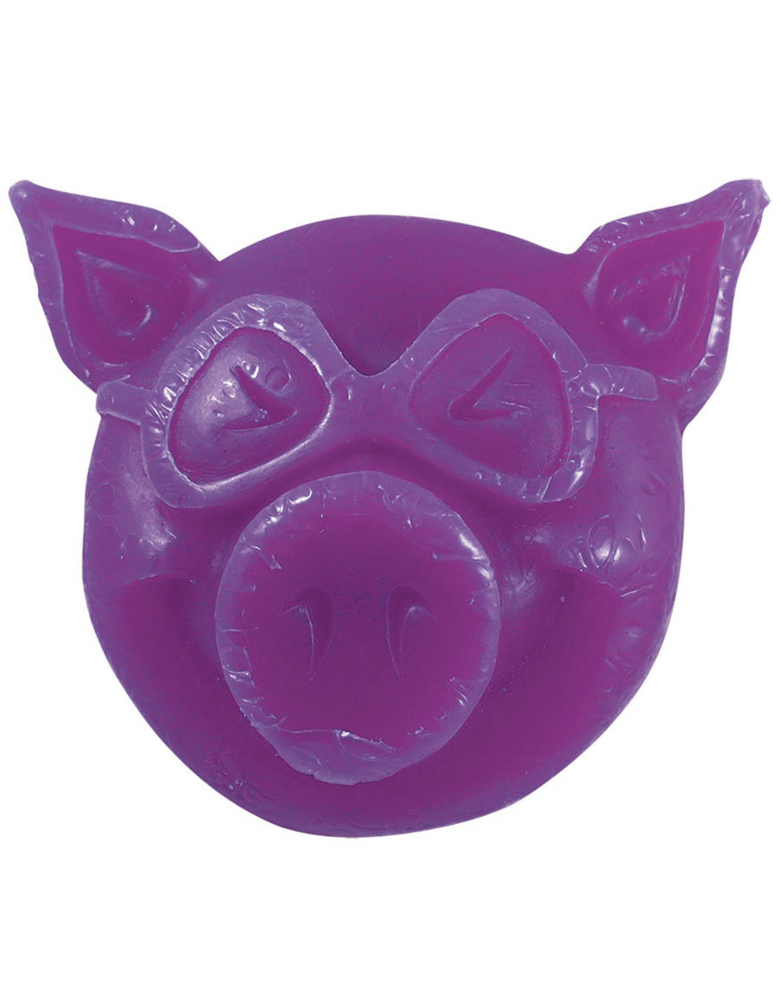 Pig Pig Wax Pig Head (Purple)