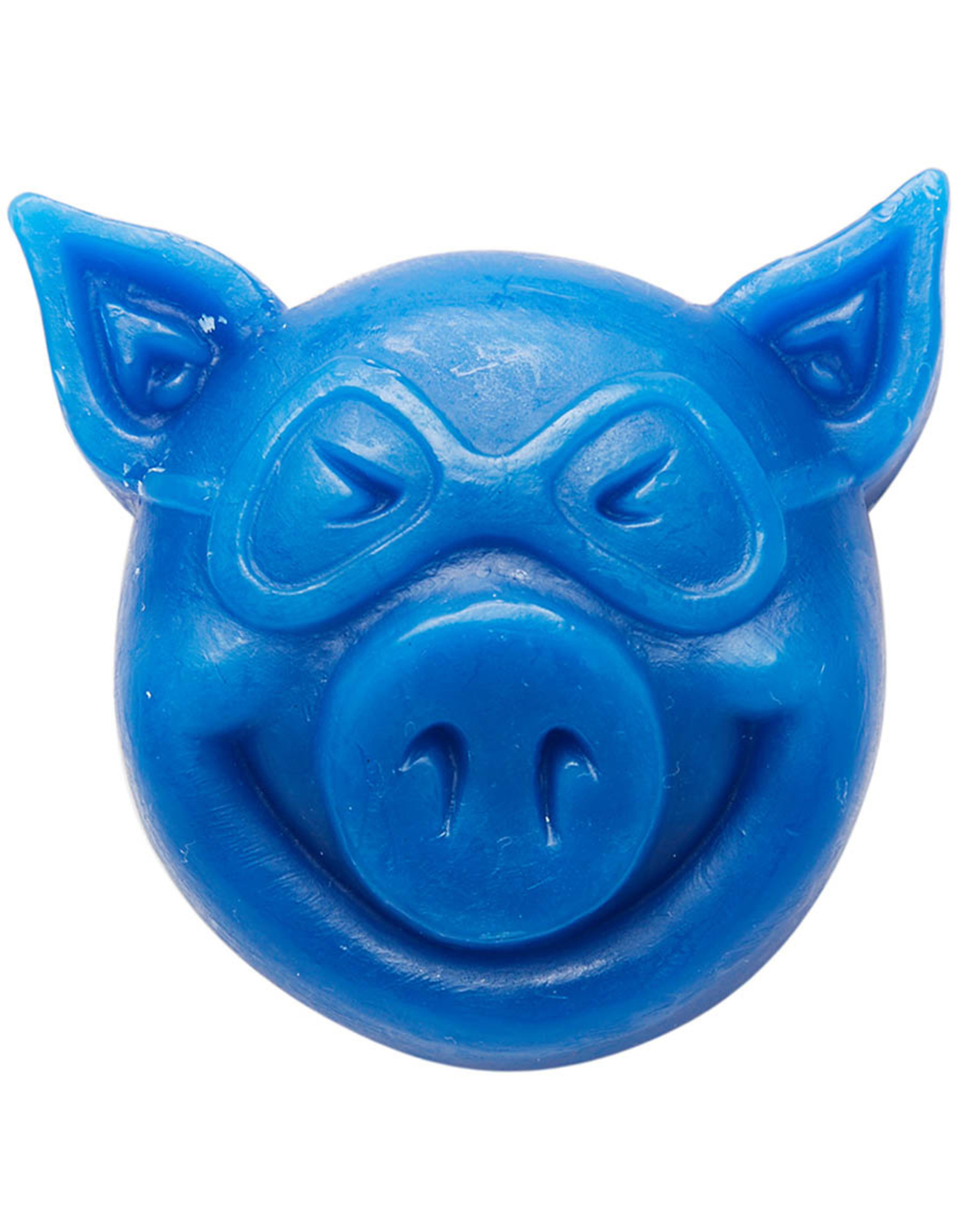 Pig Pig Wax Pig Head (Blue)