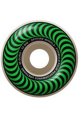 Spitfire Spitfire Wheels Formula Four Green Classic White (52mm/99d)
