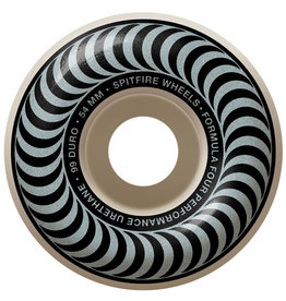 Spitfire Spitfire Wheels Formula Four Silver Classic White (54mm/99d)