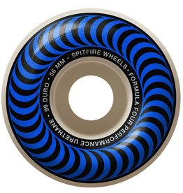 Spitfire Spitfire Wheels Formula Four Blue Classic White (56mm/99d)
