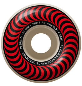 Spitfire Spitfire Wheels Formula Four Red Classic White (51mm/99d)