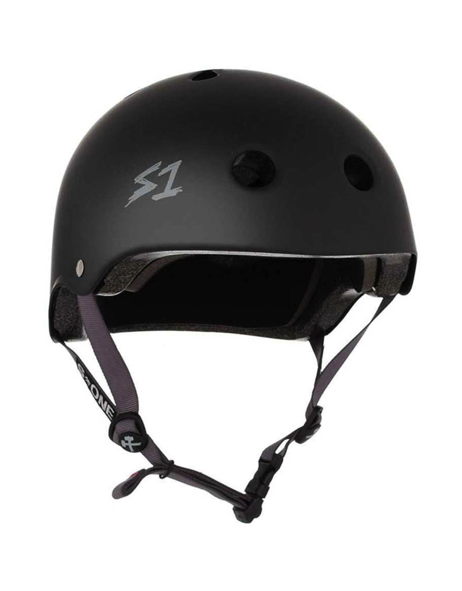 S-One S-One Helmet The Adult Lifer (Black Matte/Black Straps)