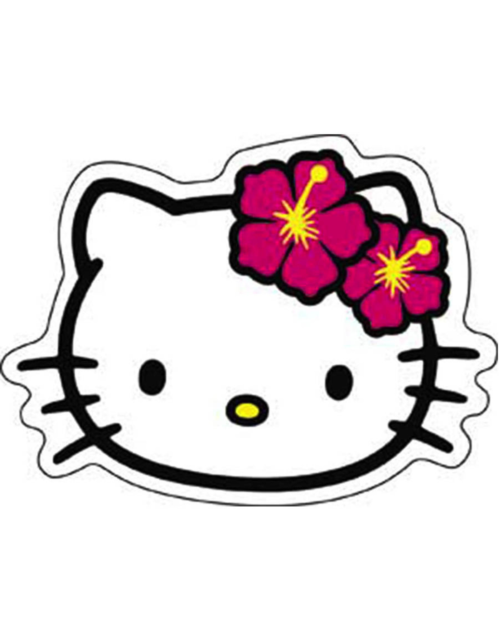 Star 500 Concert Series On Hollywood Sticker Hello Kitty Head
