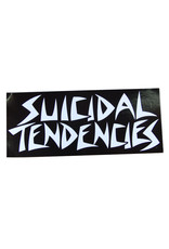 Star 500 Concert Series On Hollywood Sticker Suicidal Tendencies (White Font/Black Background)