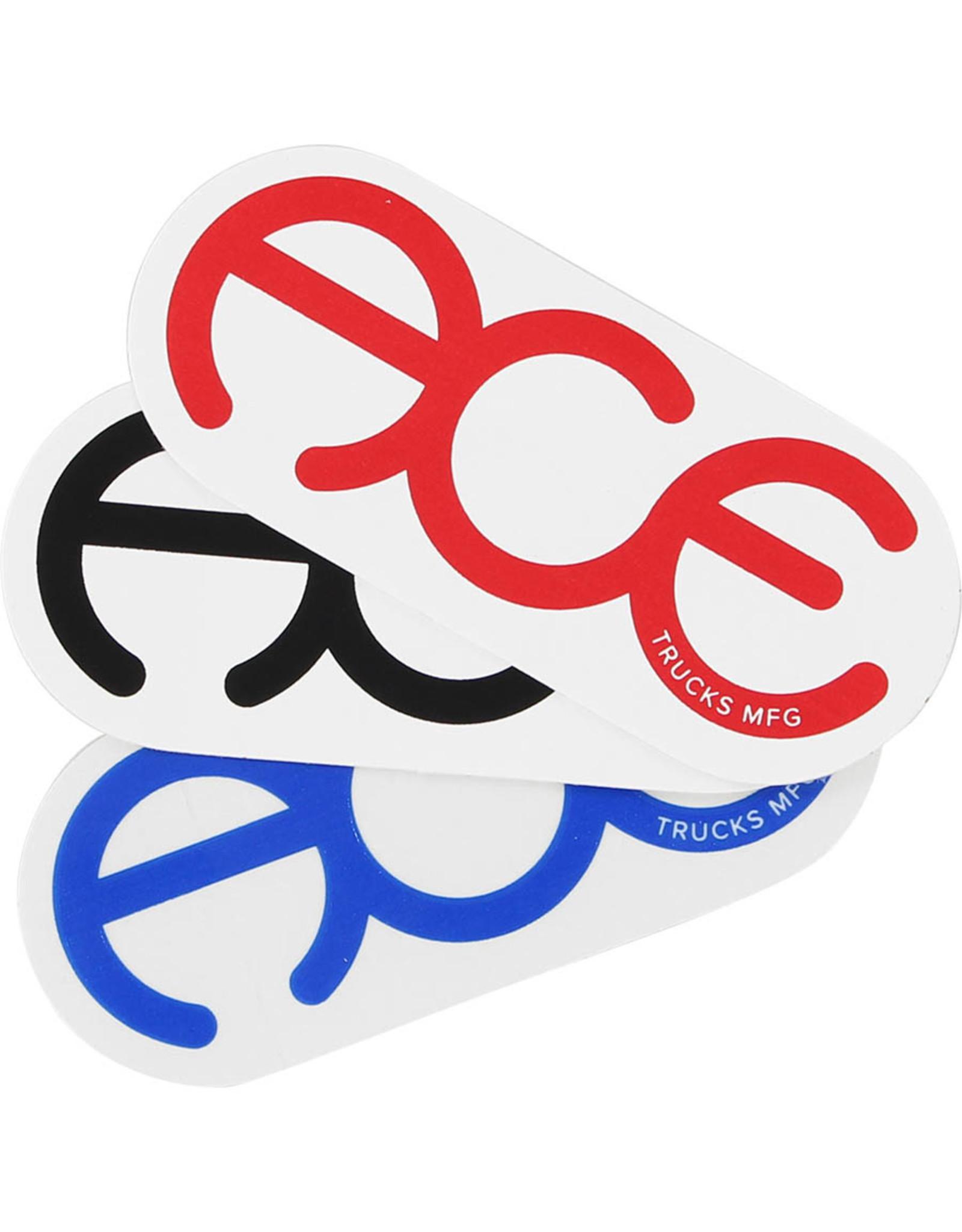 Ace Trucks Ace Sticker Rings Logo