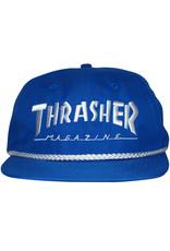 Thrasher Thrasher Hat Rope Snapback (Blue/White)