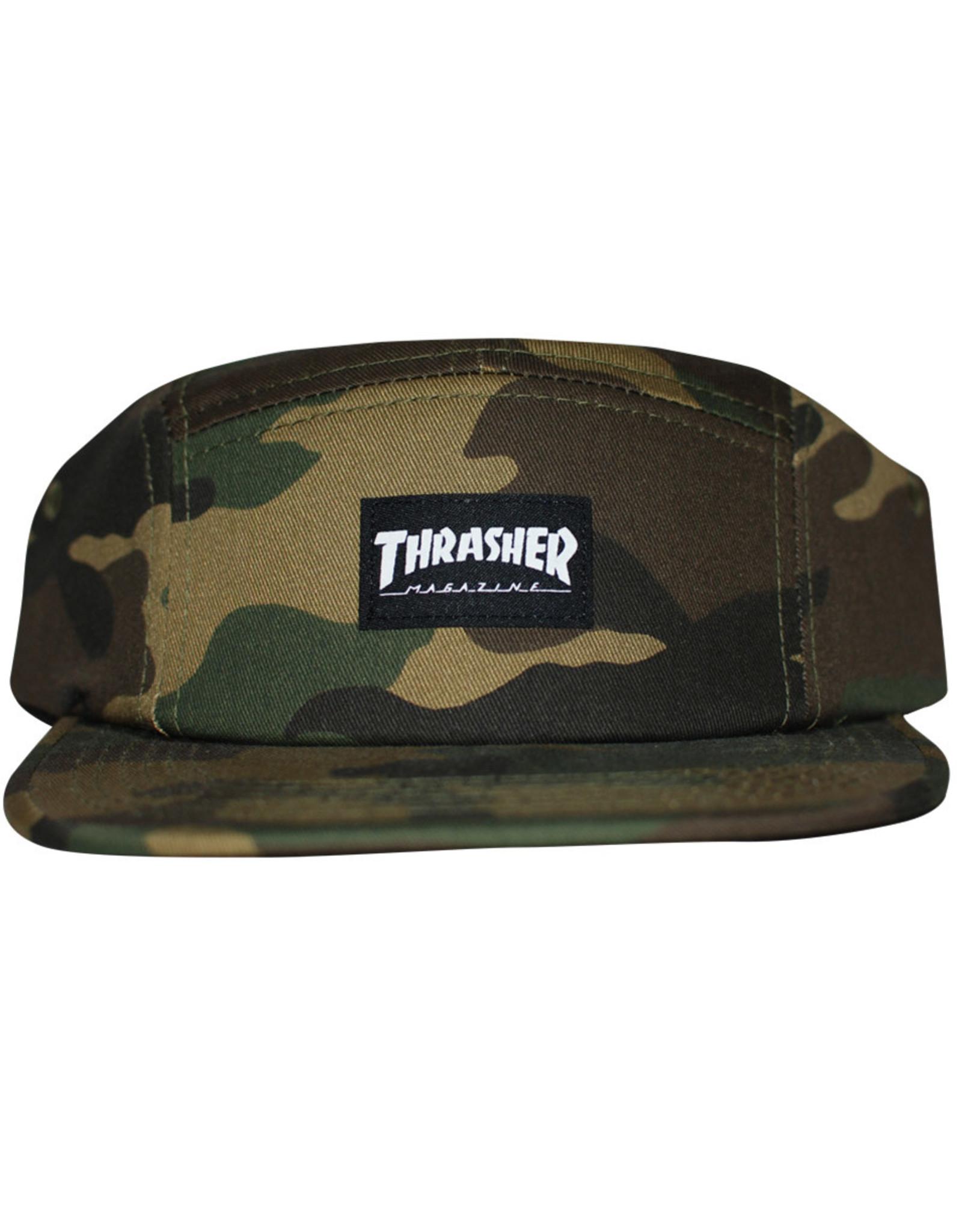Thrasher Thrasher Hat 5 Panel Strapback (Camo)