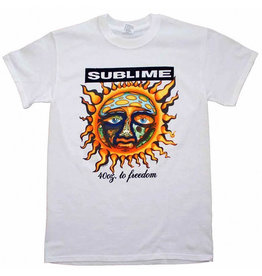 Star 500 Concert Series On Hollywood Tee Sublime 40 Oz To Freedom S/S (White)