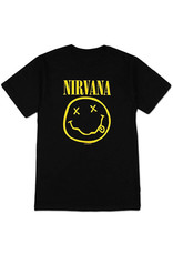 Star 500 Concert Series On Hollywood Tee Nirvana Smile S/S (Black)