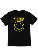 Star 500 Concert Series On Hollywood Tee Nirvana Smile S/S (Black)