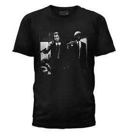 Star 500 Concert Series On Hollywood Tee Pulp Fiction Vincent And Jules S/S (Black)