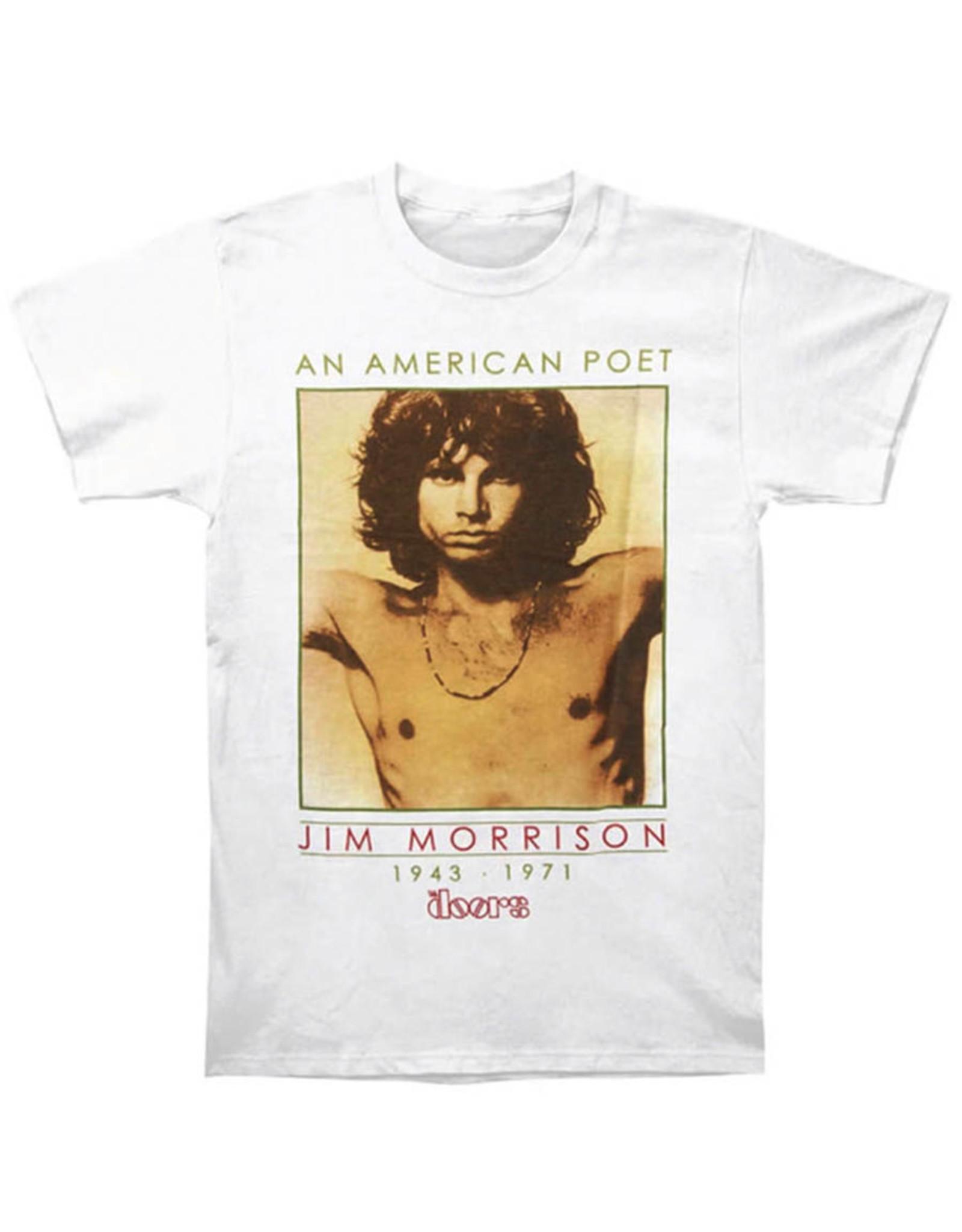 Star 500 Concert Series On Hollywood Tee The Doors American Poet II S/S (White)