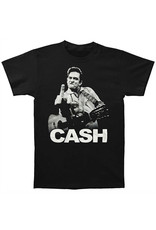 Star 500 Concert Series On Hollywood Tee Johnny Cash Finger S/S (Black)