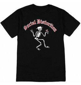 Star 500 Concert Series On Hollywood Tee Social Distortion Skelly Logo S/S (Black)