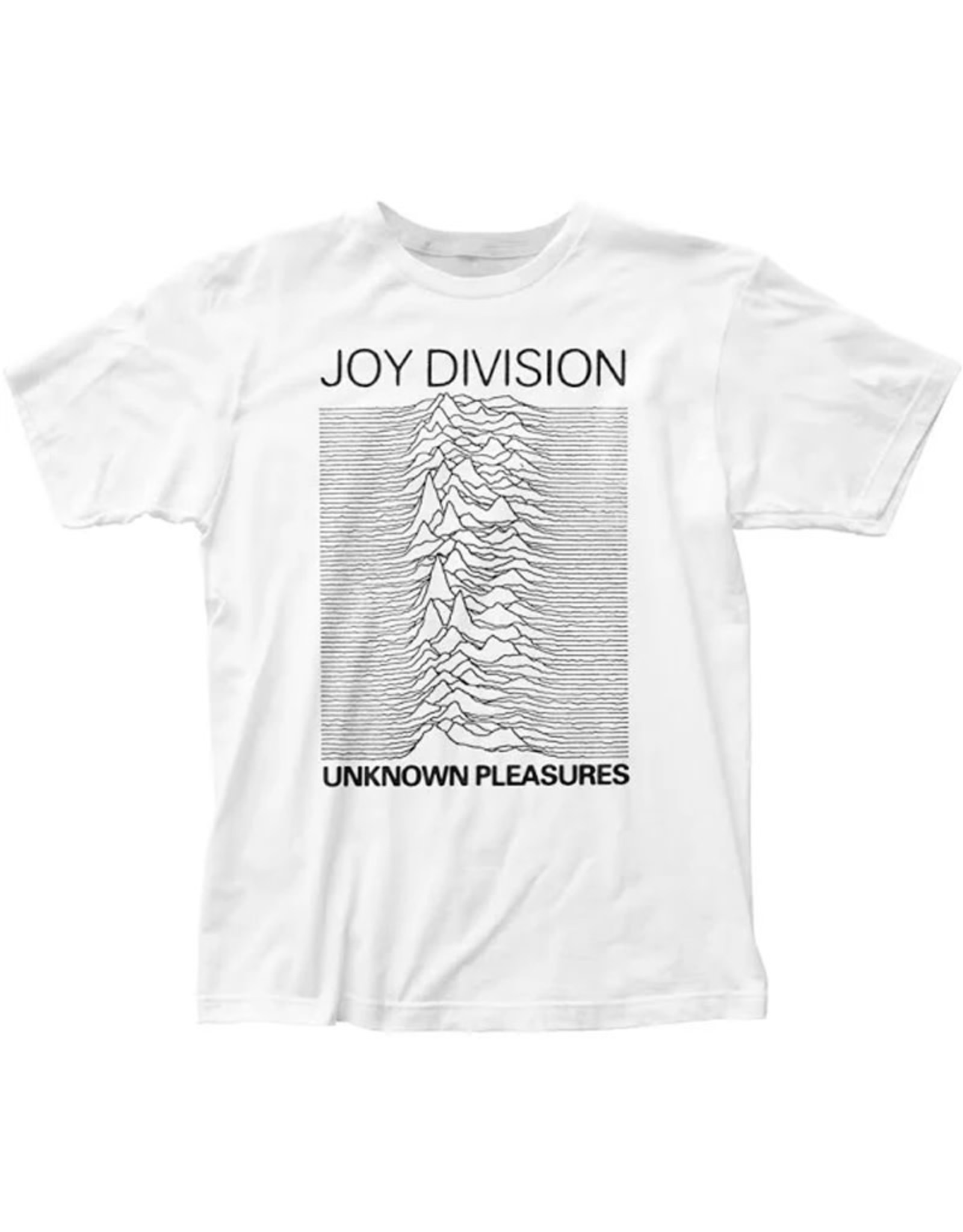 Star 500 Concert Series On Hollywood Tee Joy Division Unknown Pleasures S/S (White)