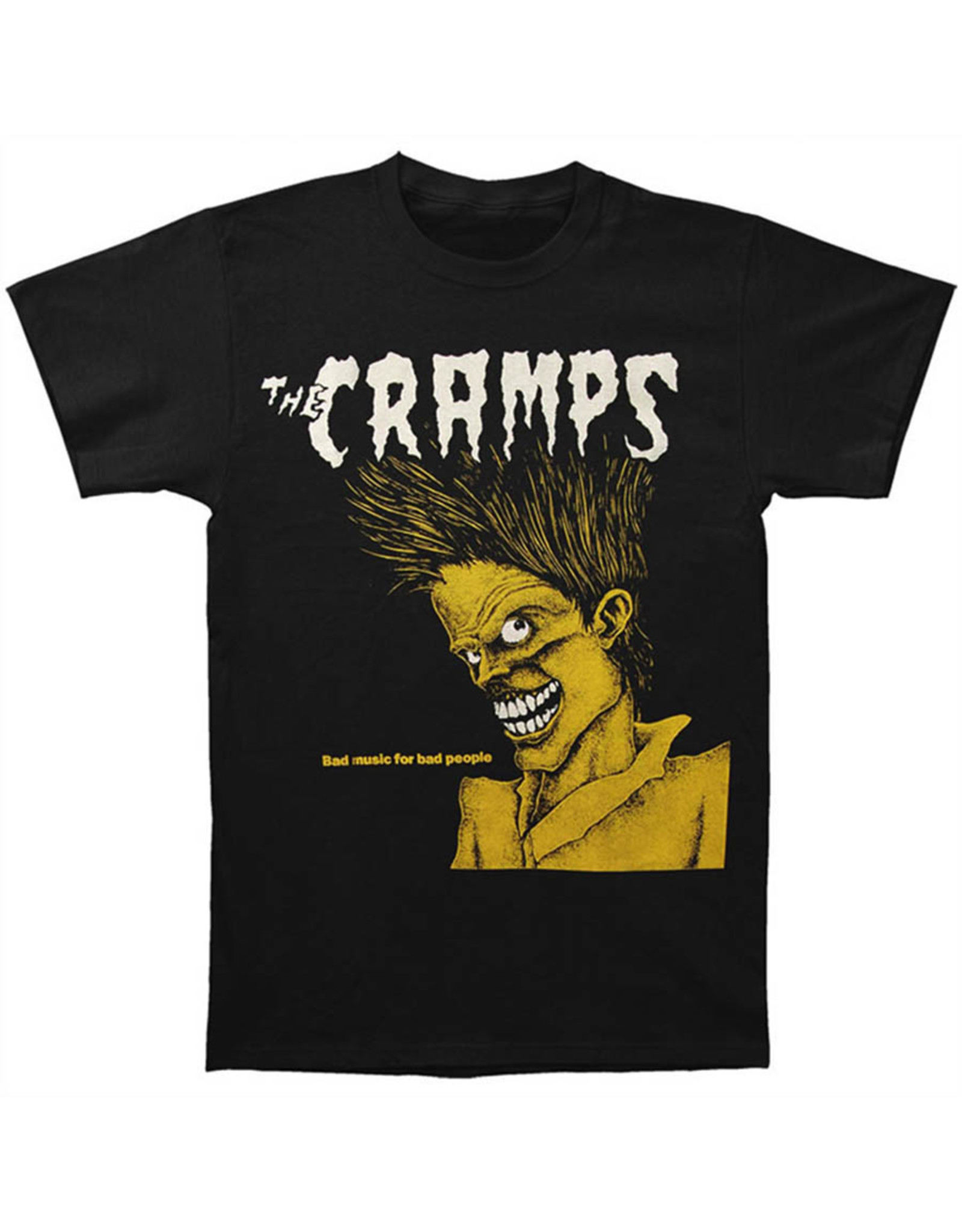 Star 500 Concert Series On Hollywood Tee The Cramps Bad Music S/S (Black)