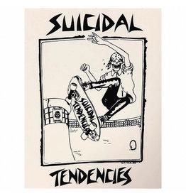 Star 500 Concert Series On Hollywood Sticker Suicidal Tendencies Skateboard