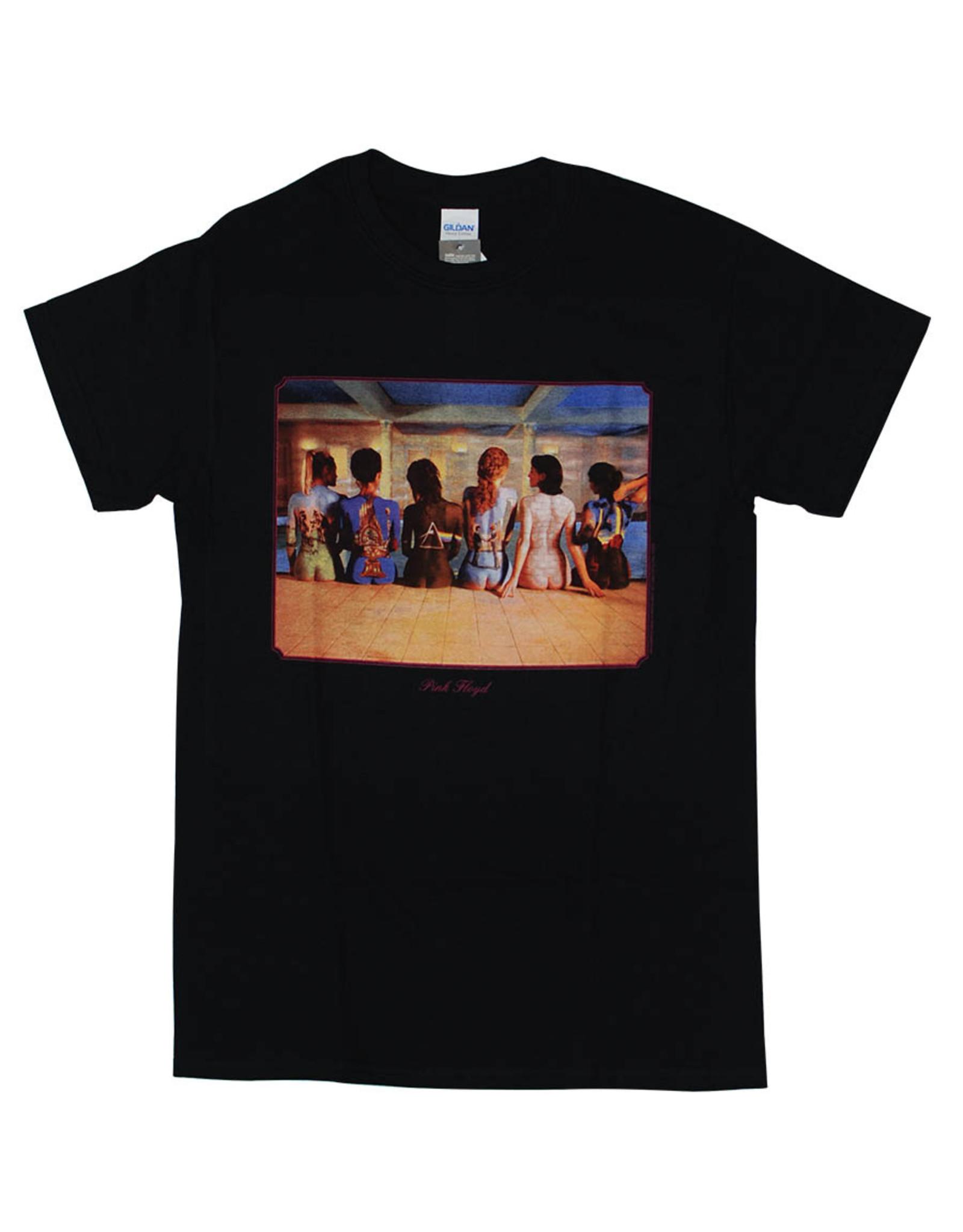 Star 500 Concert Series On Hollywood Tee Pink Floyd Back Catalouge S/S (Black)