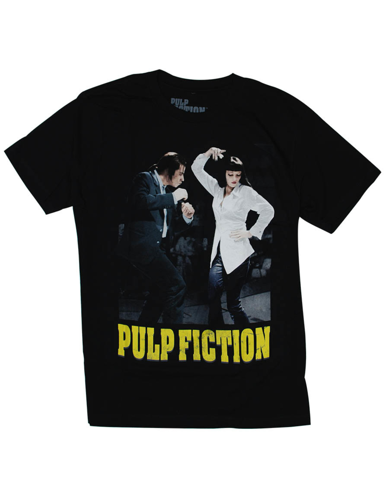 Star 500 Concert Series On Hollywood Tee Pulp Fiction Dance Off S/S (Black)