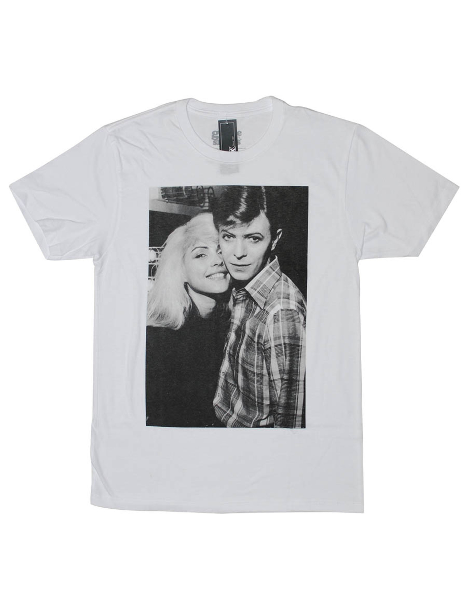 Star 500 Concert Series On Hollywood Tee David Bowie Together S/S (White)