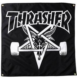 Thrasher Thrasher Banner Sk8 Goat (Black)