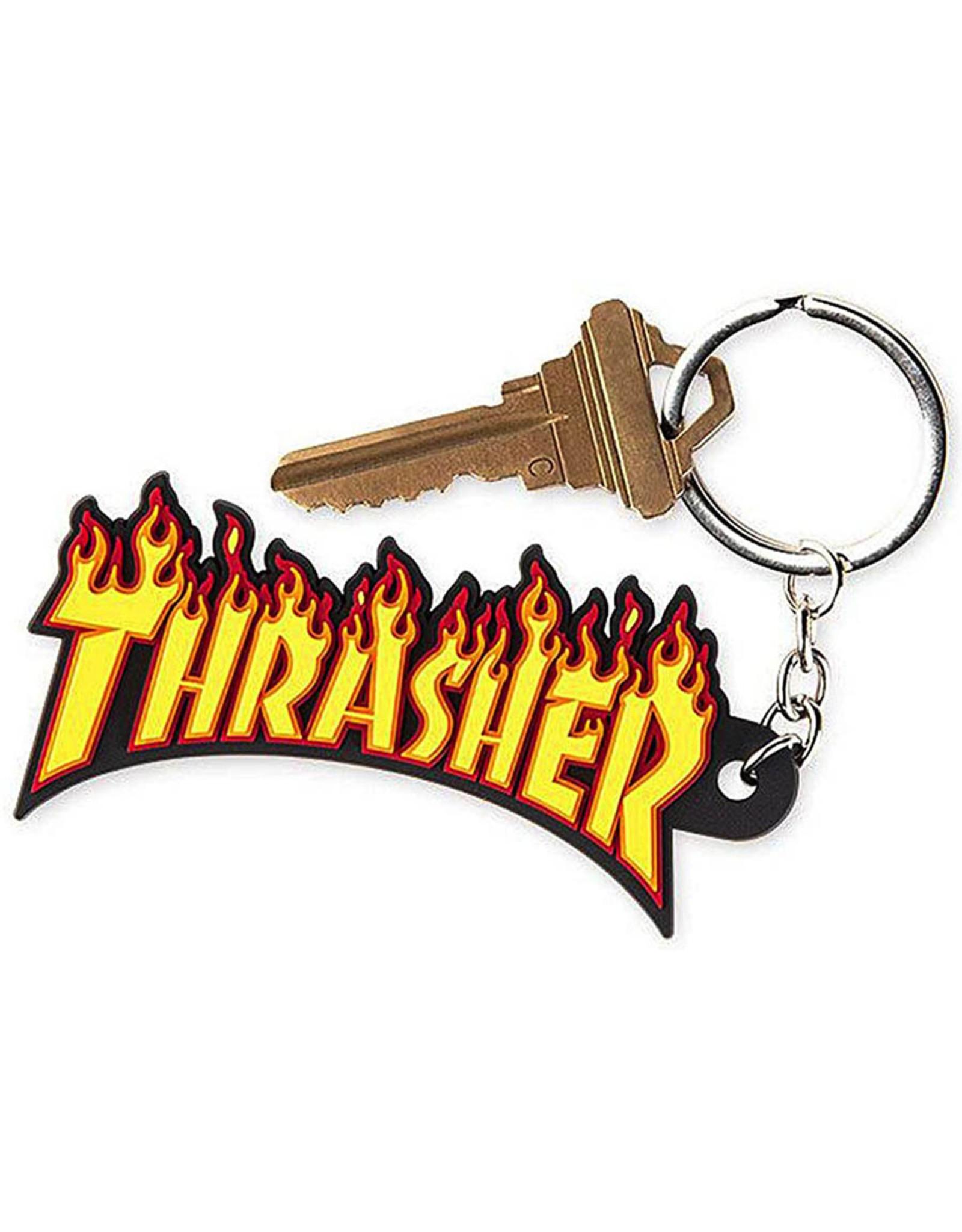 Thrasher Thrasher Keychain Flame Logo