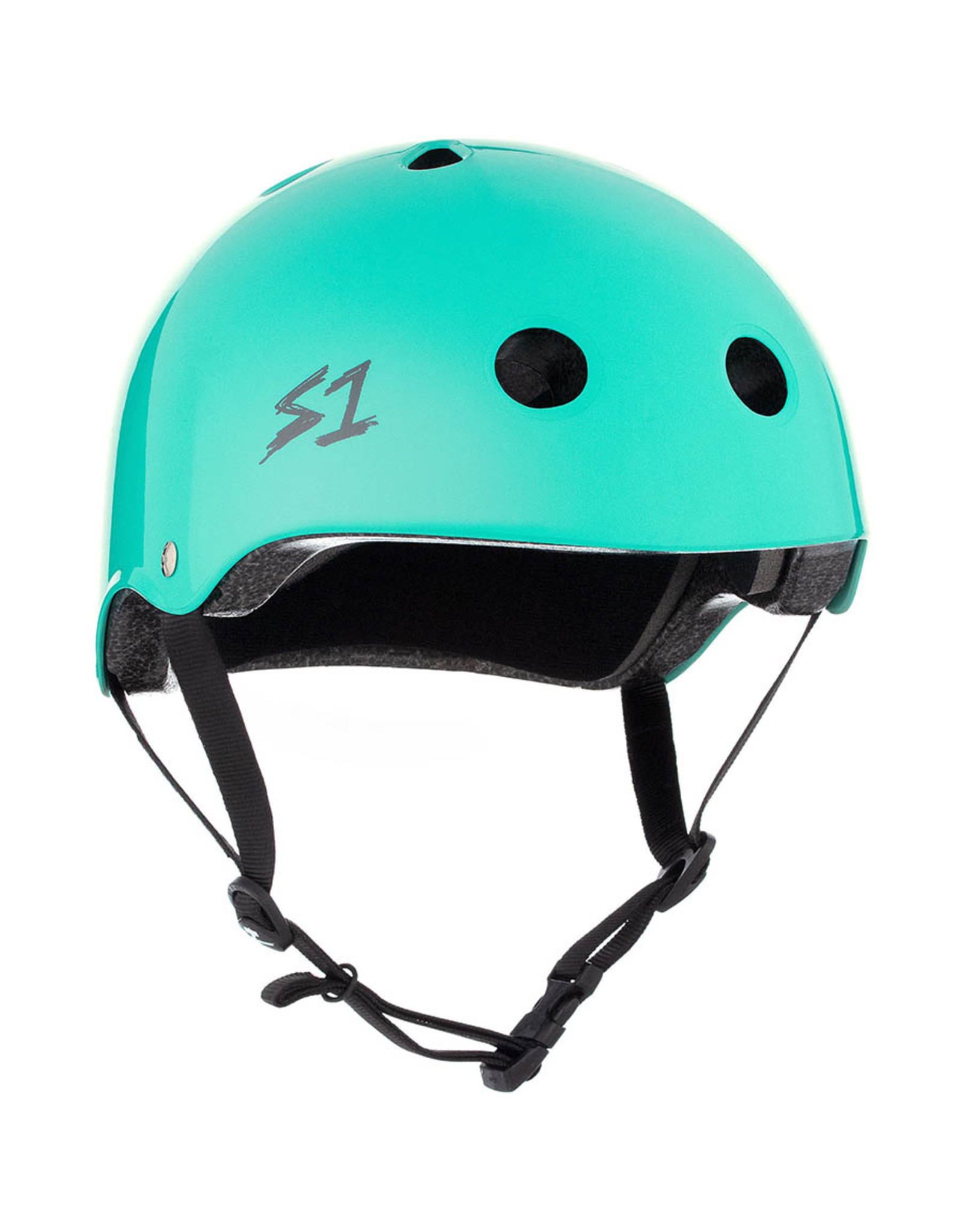 S-One S-One Helmet The Adult Lifer (Lagoon Gloss/Black Straps)