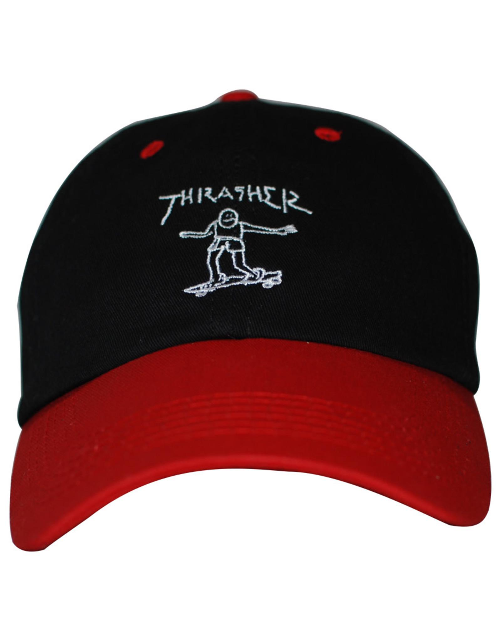 Thrasher Thrasher Hat Gonz Old Timer Strapback (Black/Red)