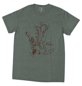 Stix Stix Tee Gonz Boots S/S (Heather Military Green/Chocolate)