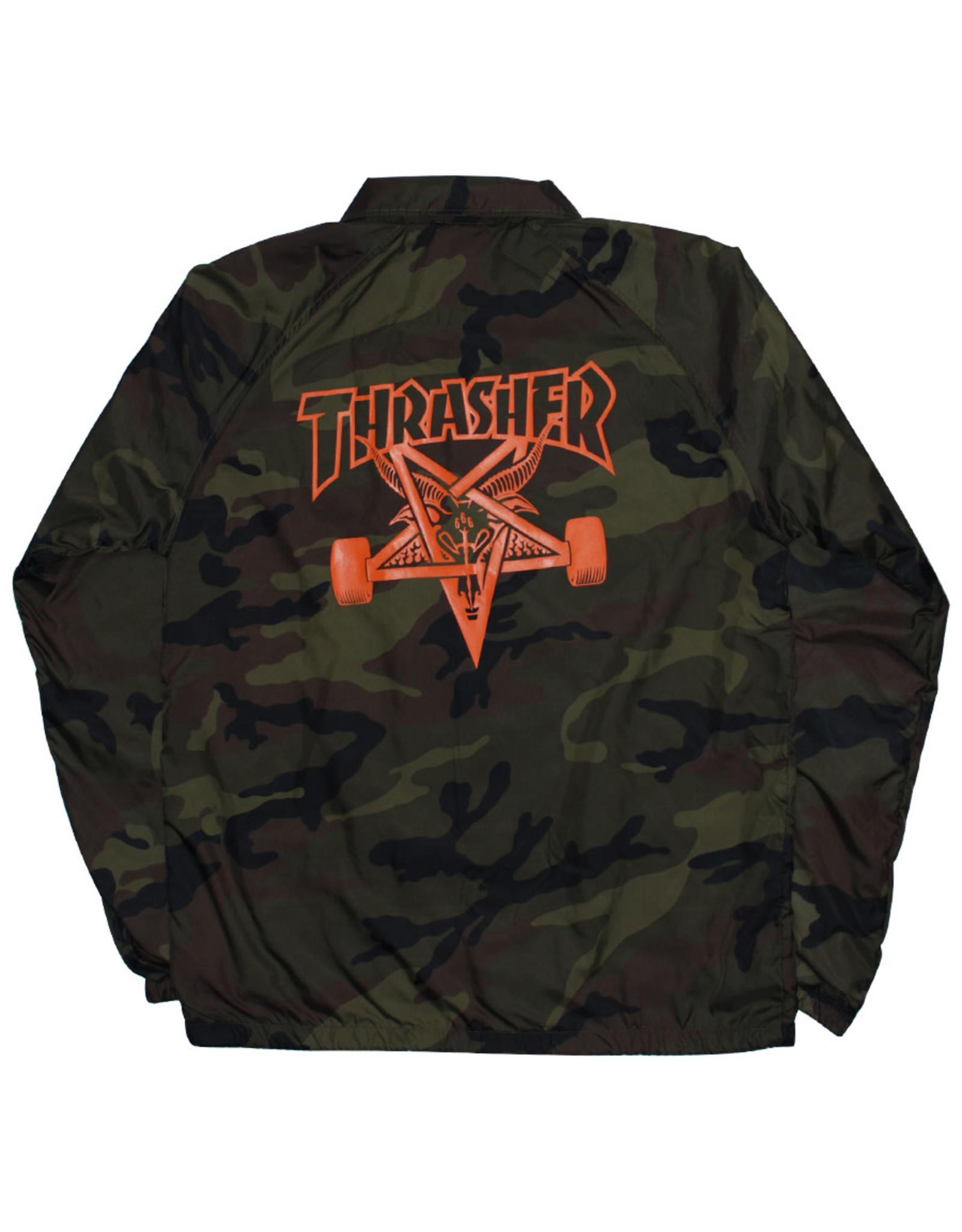 Thrasher Thrasher Jacket Mens Sk8 Goat Coach (Camo)