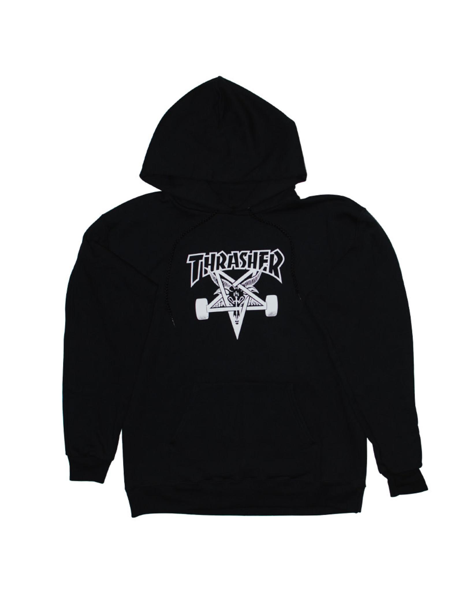 Thrasher Thrasher Hood Mens Sk8 Goat (Black)