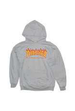 Thrasher Thrasher Hood Mens Flame (Grey)