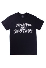 Thrasher Thrasher Tee Mens Sk8 And Destroy S/S (Black)