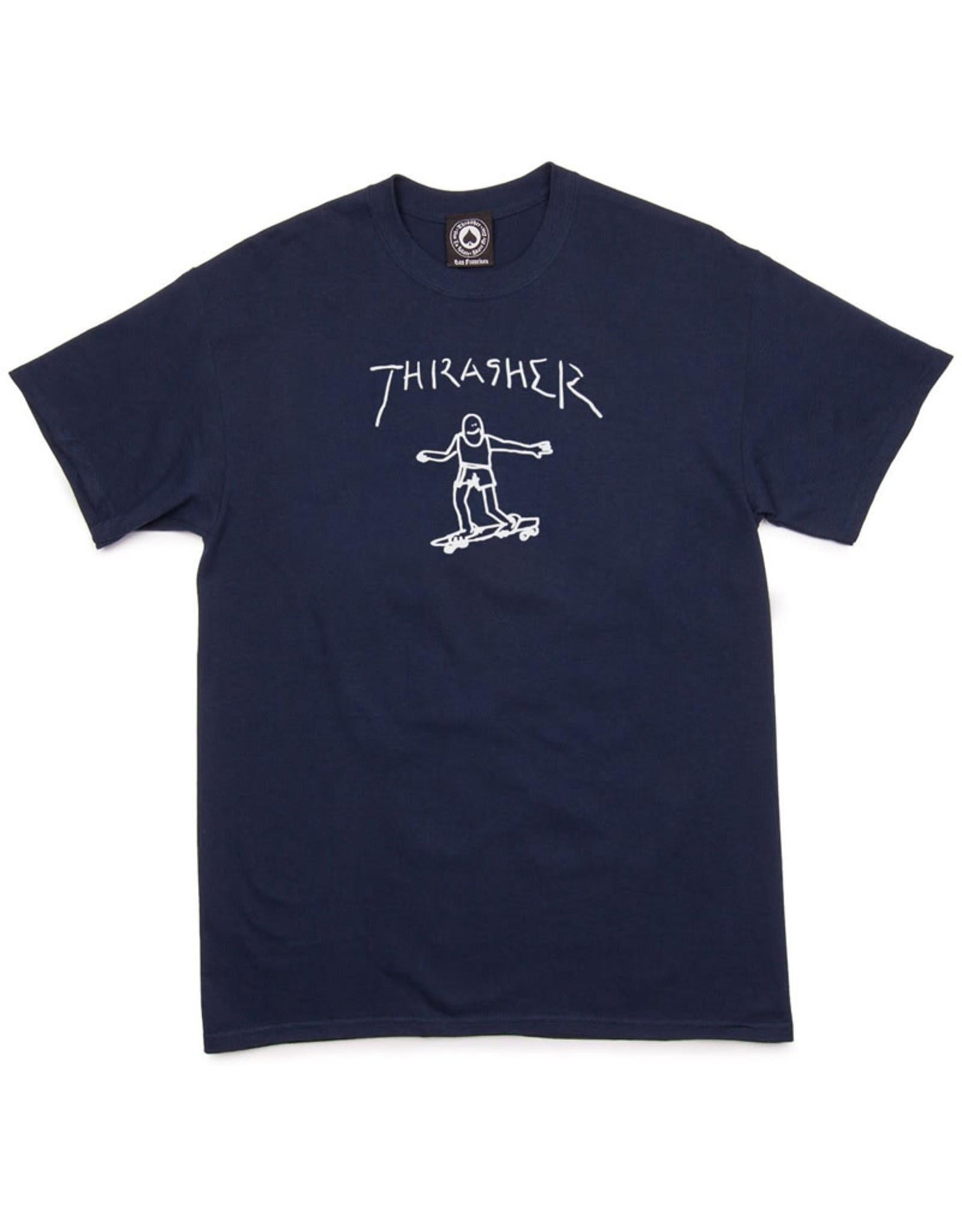 Thrasher Thrasher Tee Mens Gonz S/S (Navy)
