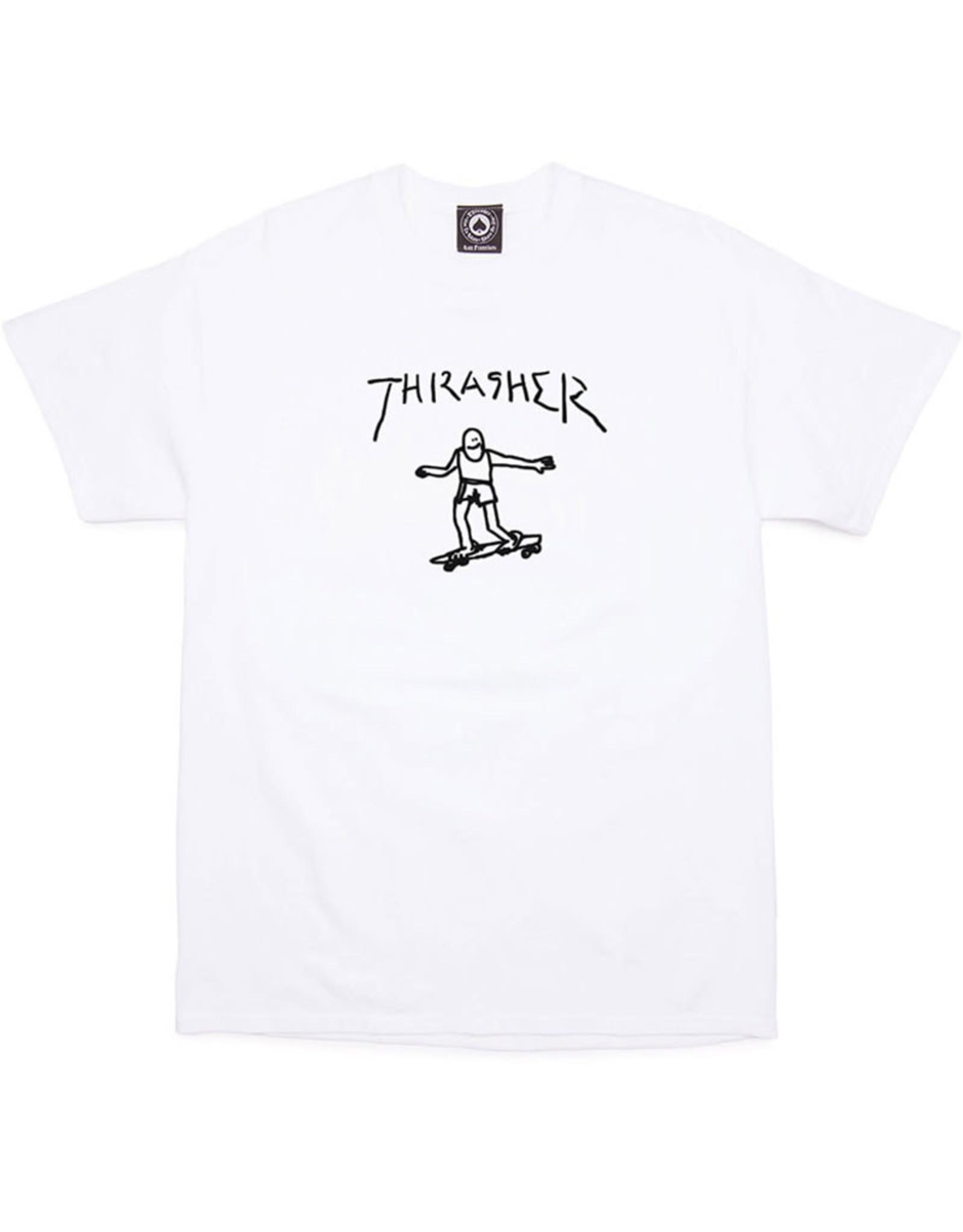Thrasher Thrasher Tee Mens Gonz S/S (White)