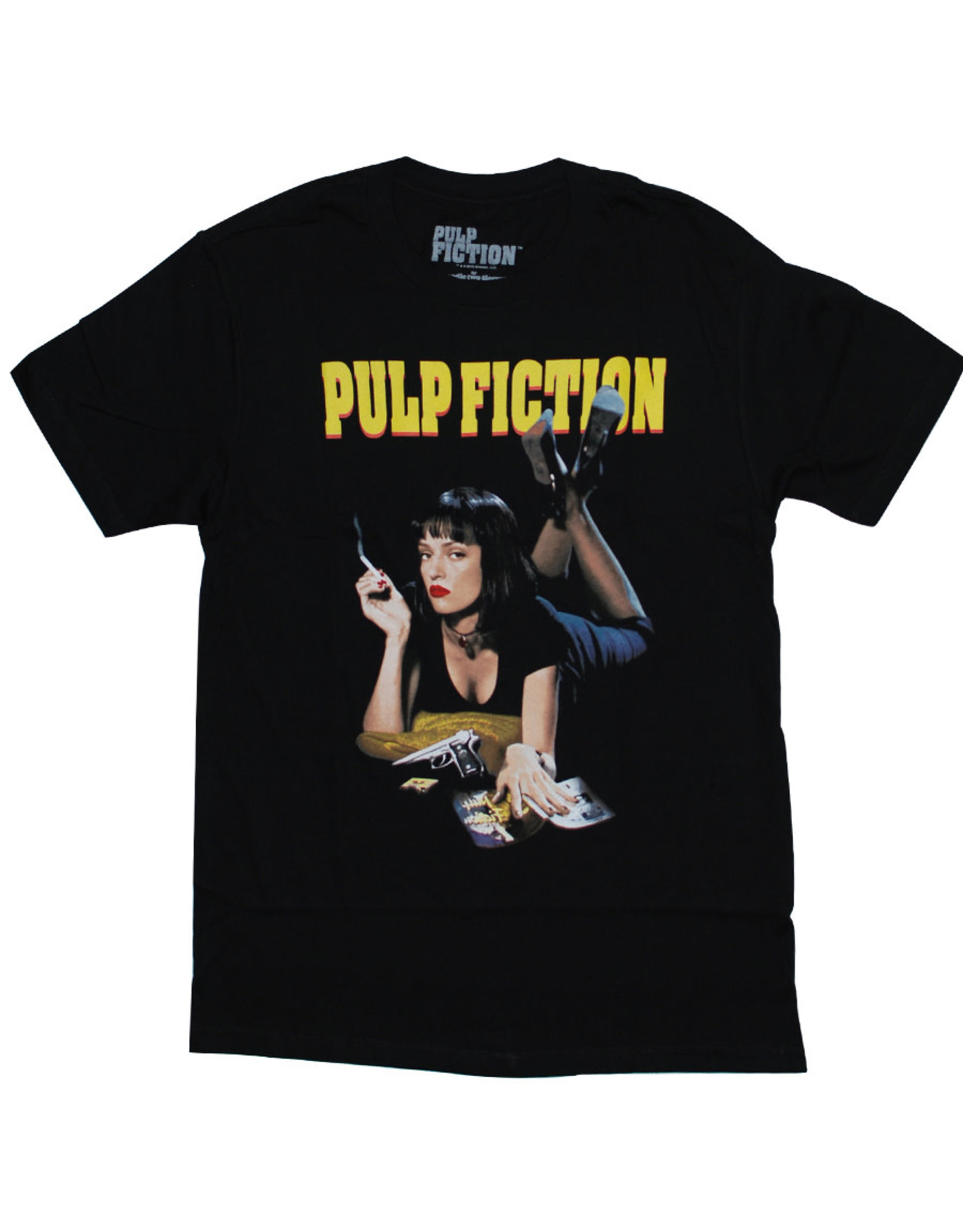 Star 500 Concert Series On Hollywood Tee Pulp Fiction Mia II S/S (Black)
