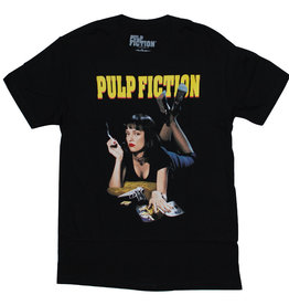 Star 500 Concert Series On Hollywood Tee Pulp Fiction Mia II S/S (Black)