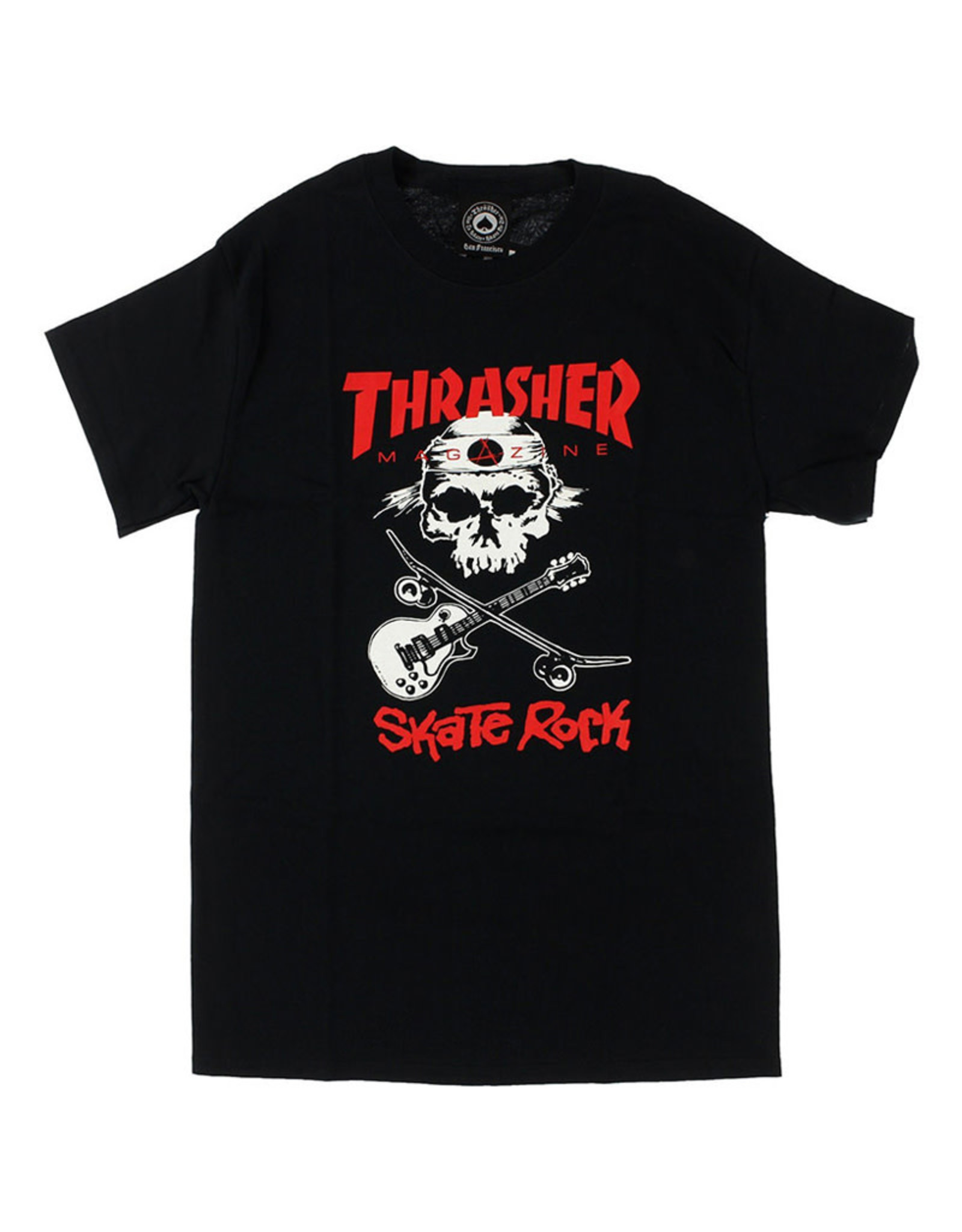 Thrasher Thrasher Tee Mens Sk8 Rock S/S (Black)