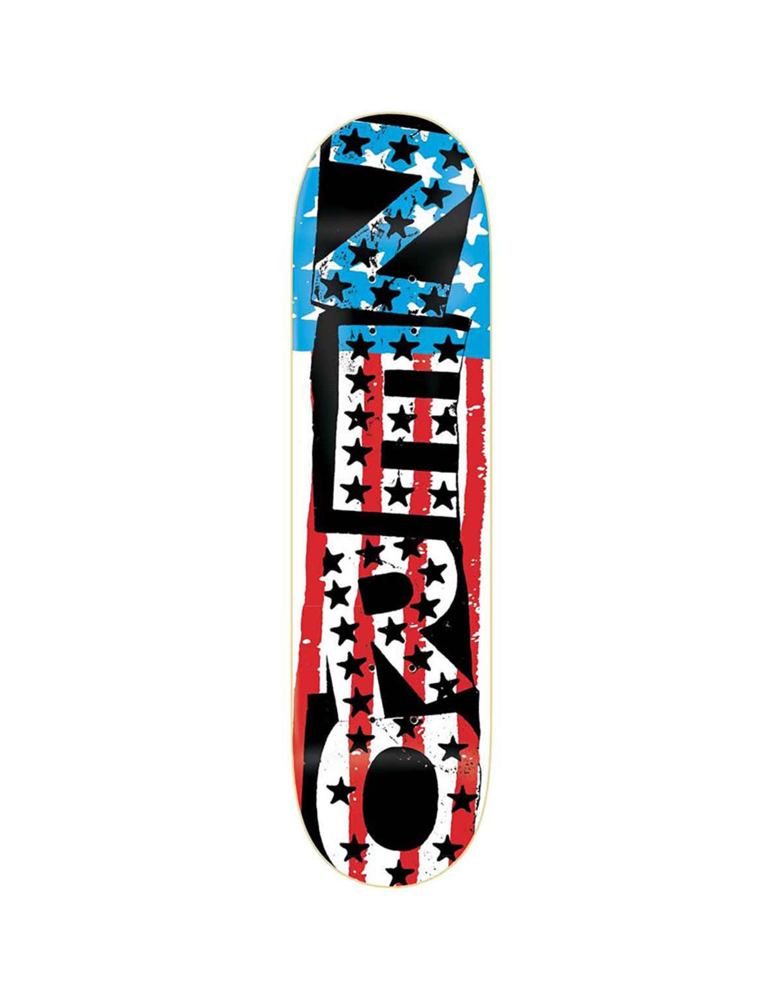 Zero Skateboards Zero Deck Team American Punk (8.5)