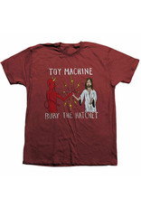 Toy Machine Toy Machine Tee Bury The Hatchet S/S (Brick Pepper)