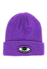 Toy Machine Toy Machine Beanie Sect Eye Dock Cuff (Purple)