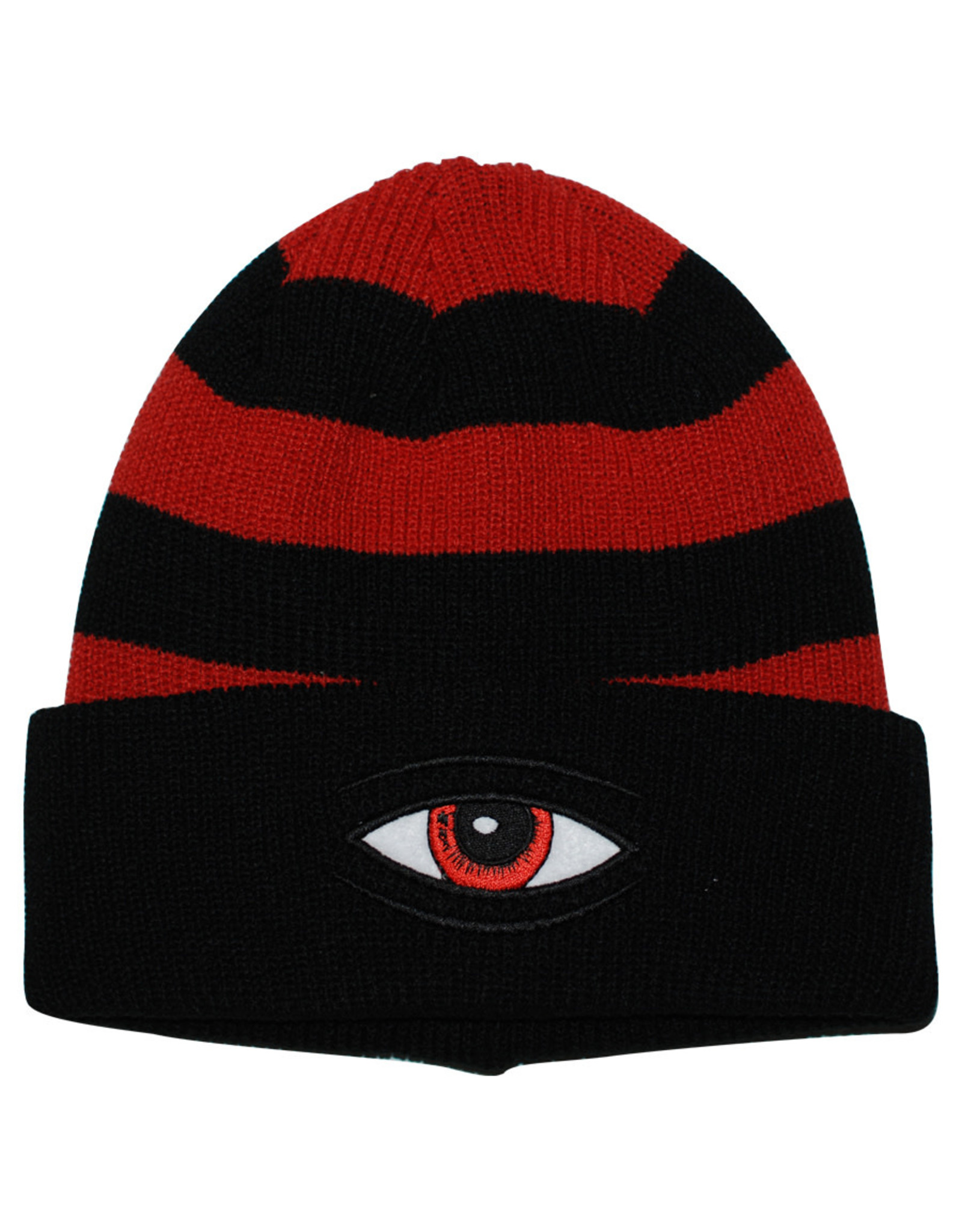 Toy Machine Toy Machine Beanie Sect Eye Stripe Dock (Black)